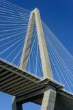 bridżowi Charleston Carolina coopera na południe od rzeki Zdjęcia Royalty Free