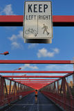 bridżowy przejście Williamsburg Zdjęcie Stock