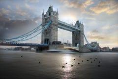 bridżowy uk London basztowy Obraz Stock