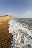Bridport giurassico del porto marittimo del litorale dell'Inghilterra Dorset immagine stock libera da diritti