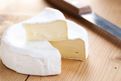 Brie cheese Royalty Free Stock Photos