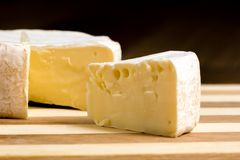 Brie cheese Stock Images