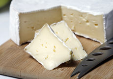 Brie Cheese Stock Foto