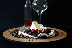 Brie Cheese Foto de Stock Royalty Free