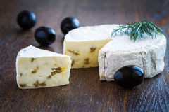 Brie Cream Cheese Royalty Free Stock Photography