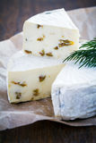 Brie Cream Cheese Royalty Free Stock Images