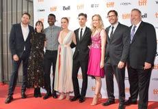 Brie Larson και πλήρωμα στη πρεμιέρα καταστημάτων ` μονοκέρων ` στο διεθνές φεστιβάλ ταινιών του Τορόντου του 2017 Στοκ Εικόνα
