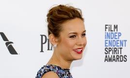 Brie Larson Imagem de Stock