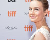 Brie Larson attends the `Unicorn Store` premiere at 2017 Toronto International Film Festival Stock Image