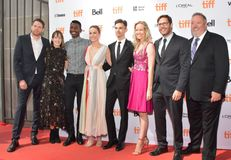 Brie Larson and crew at `Unicorn Store` premiere at 2017 Toronto International Film Festival Stock Image