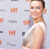Brie Larson på världspremiären av `-Unicorn Store ` på den Ryerson teatern arkivbilder