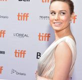 Brie Larson at the World Premiere of `Unicorn Store` at Ryerson Theatre Stock Images