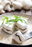 Brie riempito del formaggio Fotografie Stock Libere da Diritti