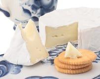 Brie voor ontbijt Stock Afbeeldingen