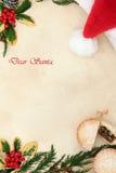 Brief aan Kerstman Stock Afbeeldingen