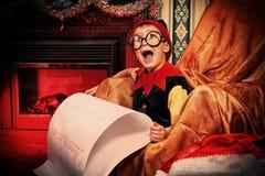 Brief aan santa Royalty-vrije Stock Afbeelding