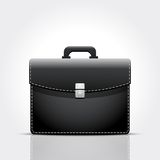 Brief case. Vector illustration of brief case. Eps10 Royalty Free Stock Photo