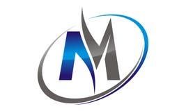 Brief M Business Royalty-vrije Stock Foto's
