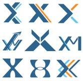 Brief X Royalty-vrije Stock Afbeeldingen