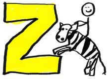 Brief Z Royalty-vrije Stock Foto