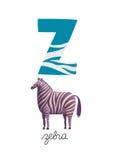 Brief Z Royalty-vrije Stock Foto's