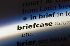 briefcase fotografia stock