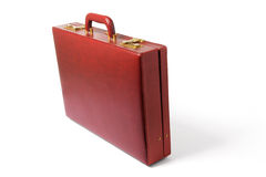 Briefcase. On Isolated White Background stock photo
