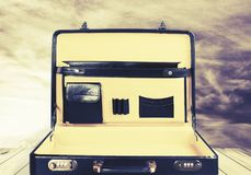 briefcase fotografie stock