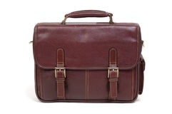 Briefcase. Convenient stylish briefcase for the businessman stock photo