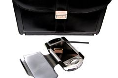 Free Briefcase And Pocket Pc. Royalty Free Stock Images - 4680249