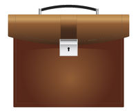 Briefcase brown Royalty Free Stock Photography