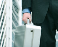 Briefcase business Stock Photography