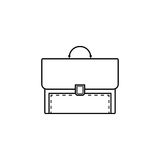 Briefcase and business line icon, finance Royalty Free Stock Photo
