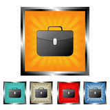 Briefcase buttons Stock Photography