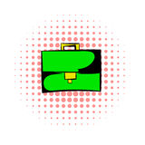 Briefcase comics icon Stock Images