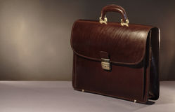 Briefcase On Dark Royalty Free Stock Images