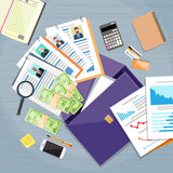 Briefcase Documents Offshore Company Business People Owners Stock Images