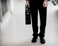 Briefcase, Down the Hallway royalty free stock images