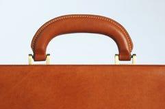Briefcase handle Stock Photo