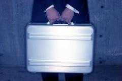 Briefcase holder Royalty Free Stock Photos