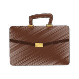 Briefcase icon image Stock Images