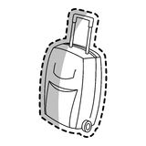 Briefcase icon image Royalty Free Stock Images