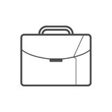 Briefcase icon. Outline Briefcase icon , vector illustration for web design etc Royalty Free Stock Images