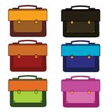Briefcase, isolated on white background royalty free illustration