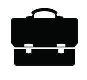 Briefcase icon Stock Photography