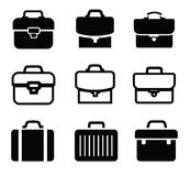 Briefcase icons Stock Image