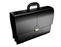 Briefcase isolated Stock Images