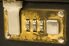 Briefcase lock 2 Stock Images