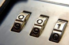 Briefcase lock Royalty Free Stock Photos
