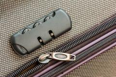 Briefcase Luggage Lock Royalty Free Stock Photos